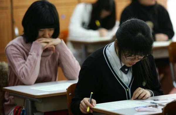 ученики школы