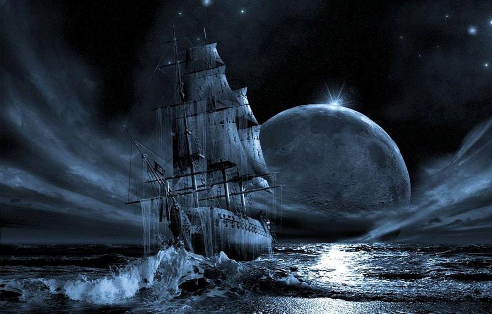 Стихотворение «Летучий Голландец», поэт Приказчиков Сергей