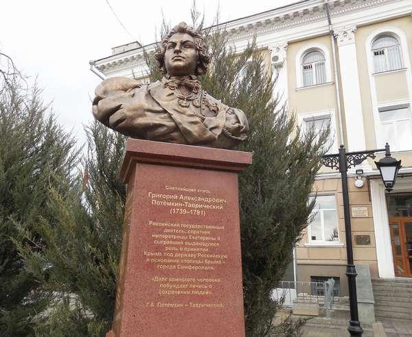 Присоединение Крыма к России при Екатерине 2