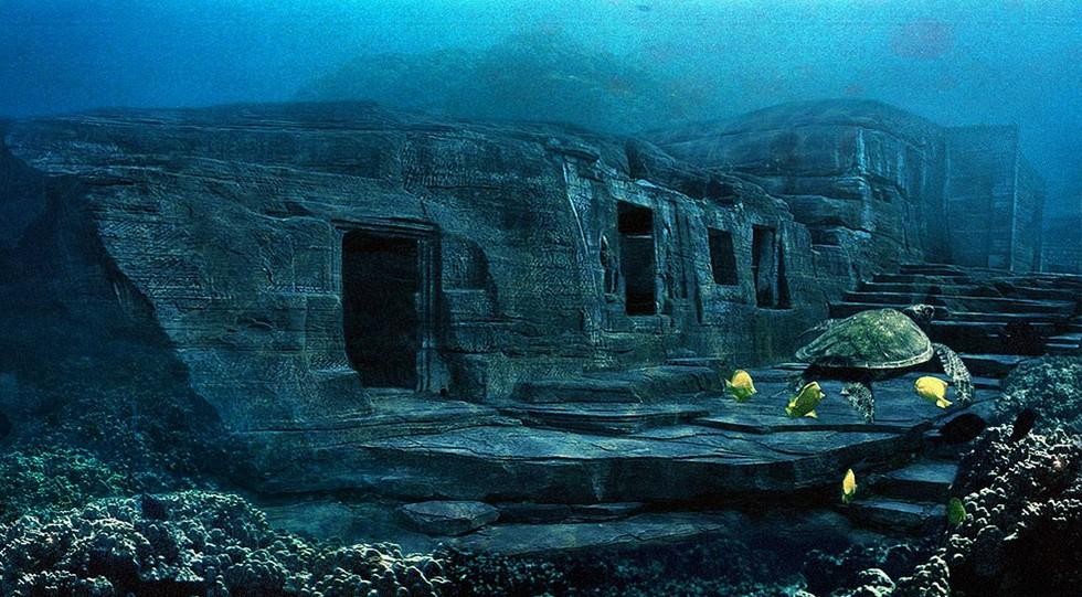Пирамиды острова Йонагуни: неразгаданные тайны океана (Япония) Terra ...