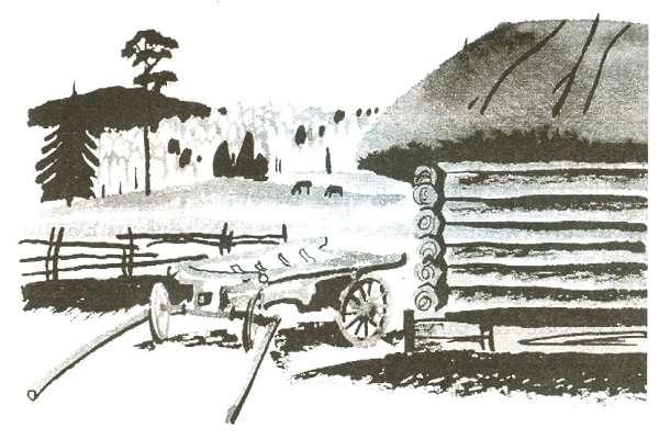 дом в сибири