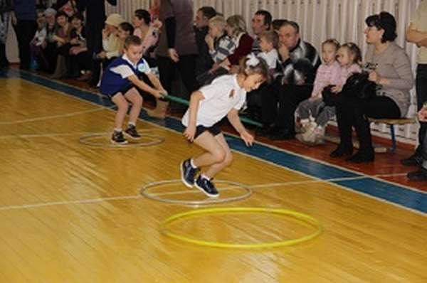Эстафеты для начальных классов в спортзале