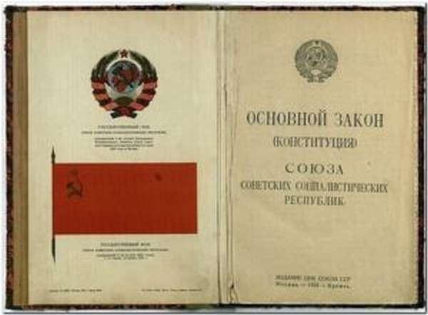 Первая Конституция СССР 1924 г. (кратко)