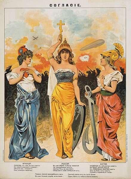 Антанта и Тройственный союз история создания, цели, состав
