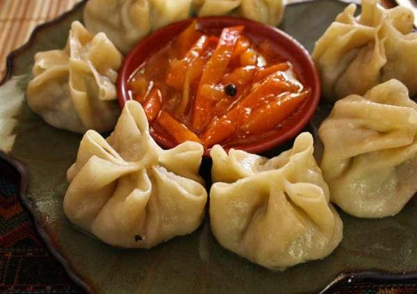 монгольское национальное блюдо