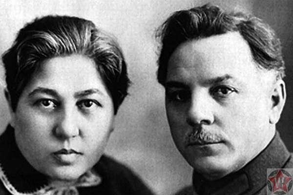 Голда Давидовна - жена Климента Ворошилова