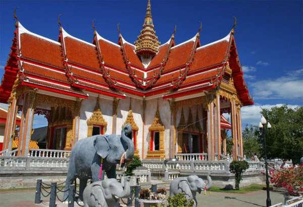 храм в Тайланде