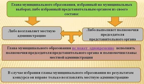Органы местного самоуправления понятие и структура