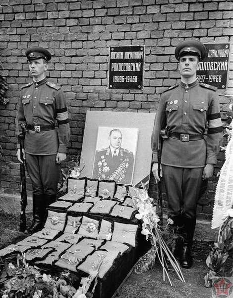 Похороны Константина Рокоссовского