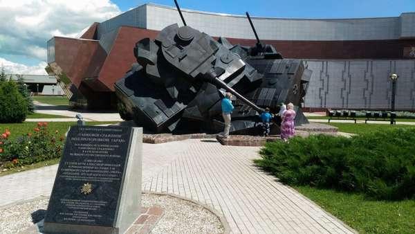 Танковое сражение под Прохоровкой на Курской дуге