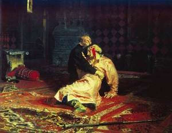 Смерть сына царя Ивана