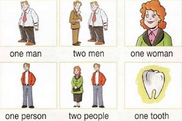 Множественное число существительных в английском языке правила образования