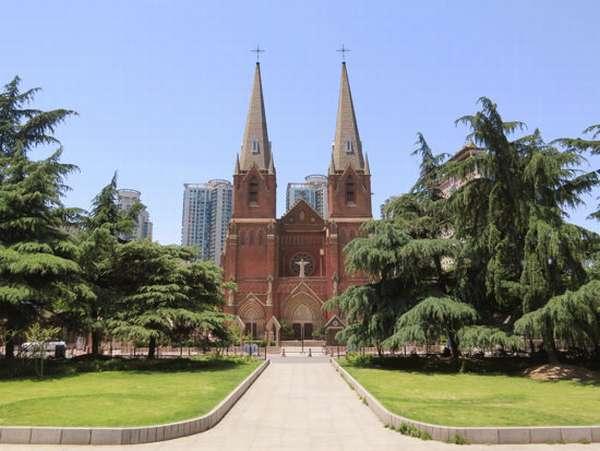 китайский католический собор