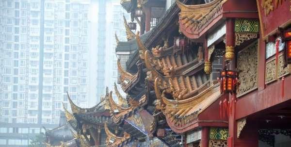 храм в провинции китая