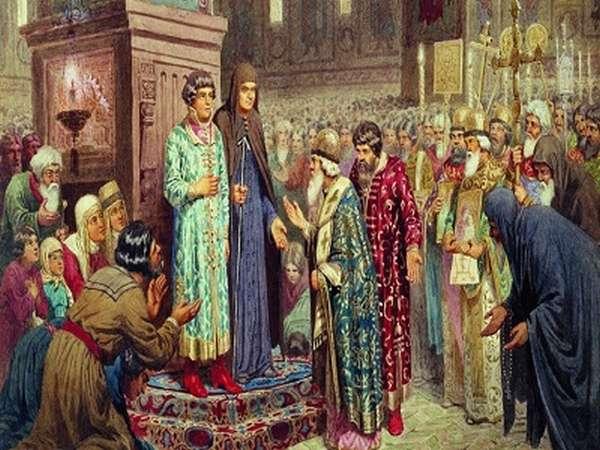 заявление о самостоятельном царствовании