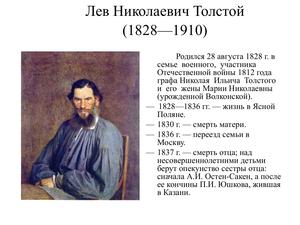 Всё о Льве Толстом