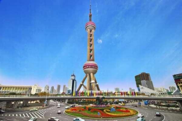 Шанхайская телебашня