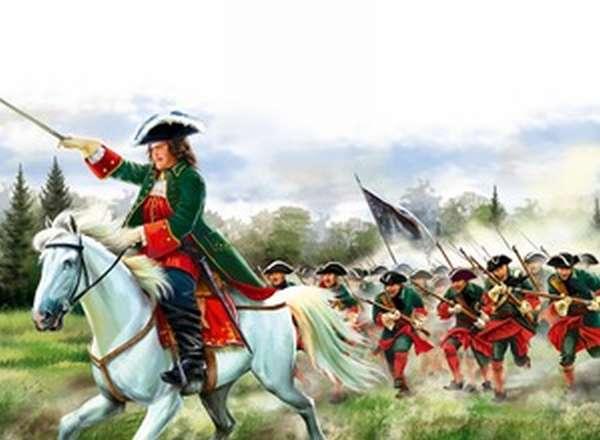 Полтавское сражение 1709 года
