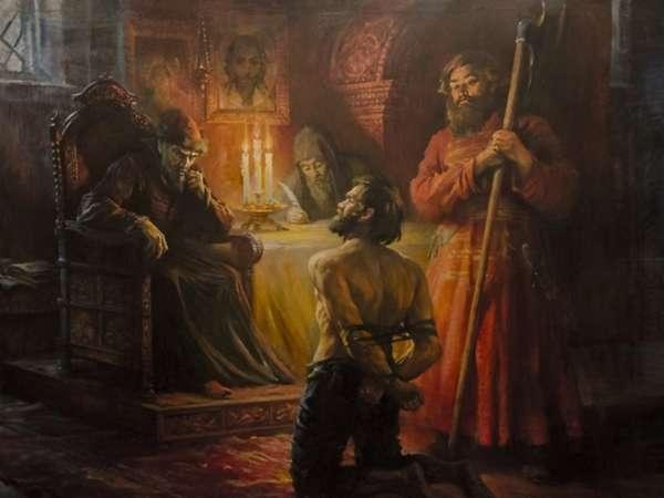 Иван грозный в александровской слободе