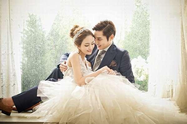 свадебное фото корея