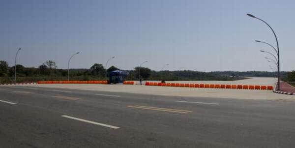 дороги в столице Мьянмы