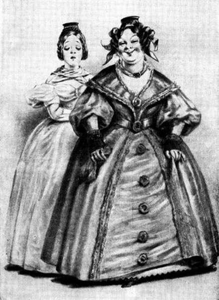 Герои Ревизора Гоголя - иллюстрации