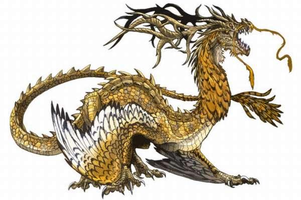 дракон дождя