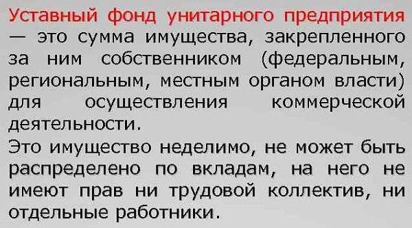 Унитарное предприятие определение, виды, признаки, особенности, функции, примеры унитарных предприятий в России