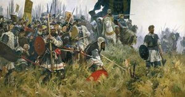 Сражение Куликовской битвы
