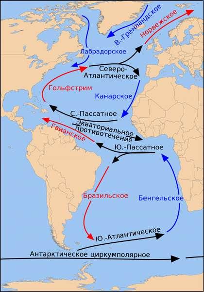 Гвианское течение — Википедия