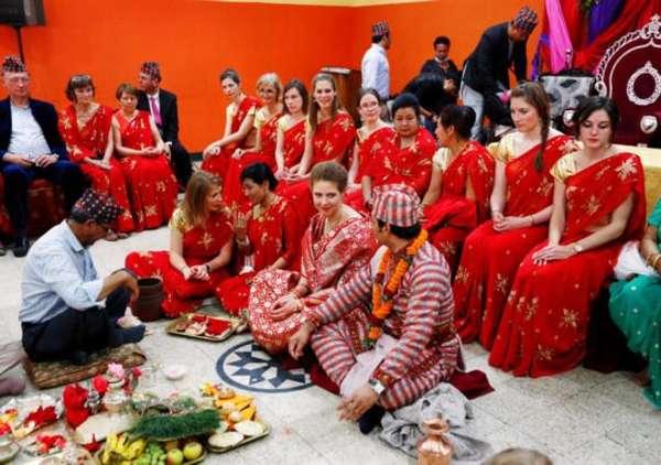 непальская свадьба