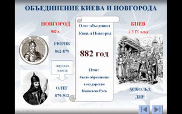 кто объединил киев и новгород
