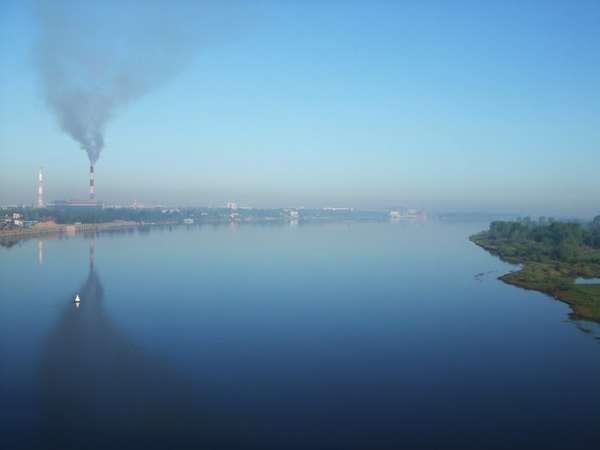 Загрязнение атмосферы Земли — Википедия
