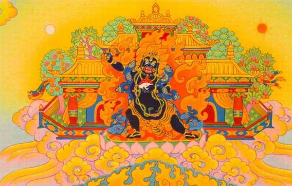 Буддийский защитник