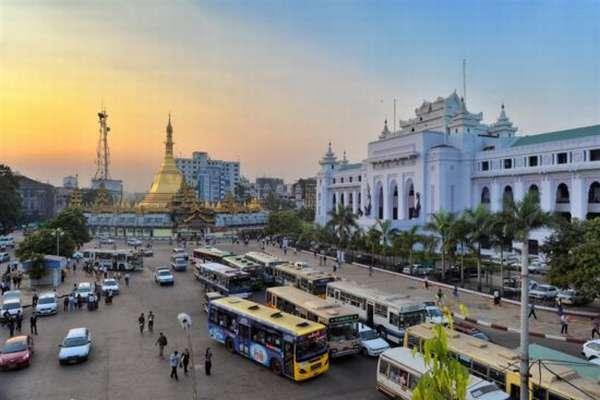 столица Бирмы