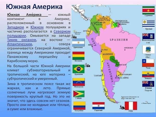 страны латинской америки список