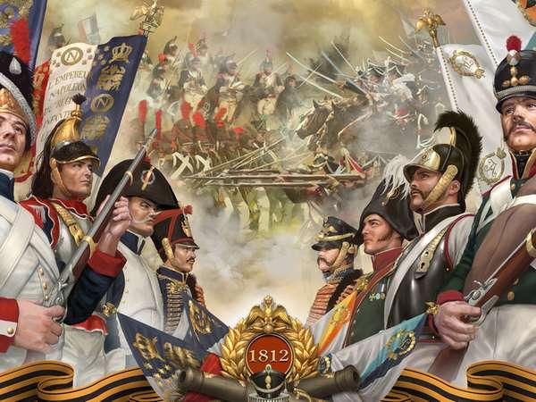 Картина бородинского сражения
