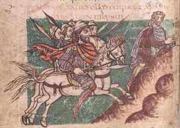 Война Карла Великого с саксами