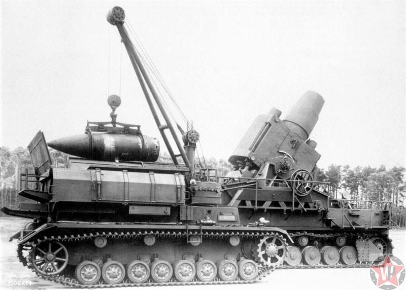 600-мм самоходная мортира «Карл» (Karl Gerät 040)