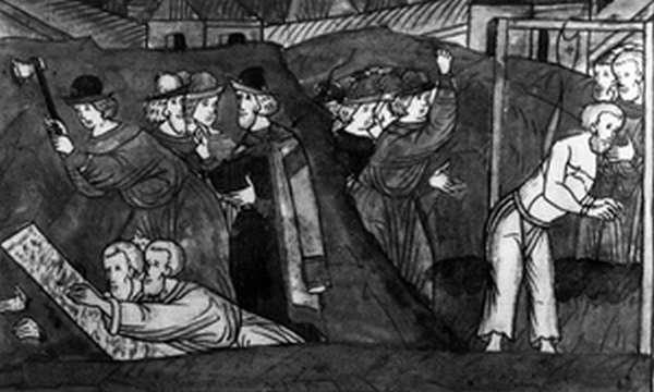 Казнь участников переворота