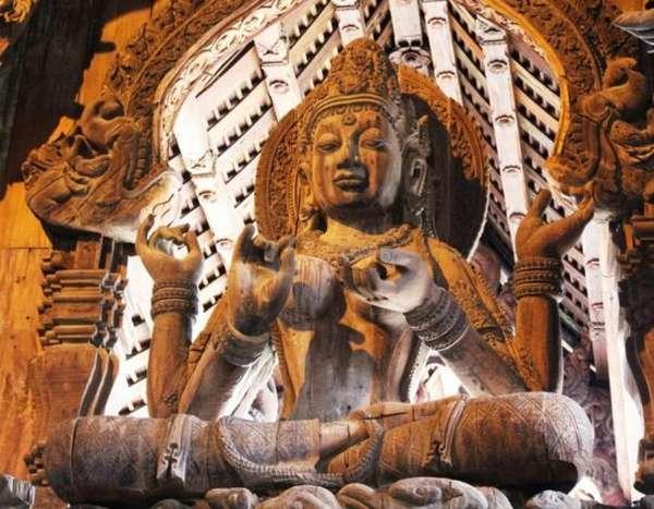 Будда в храме Истины