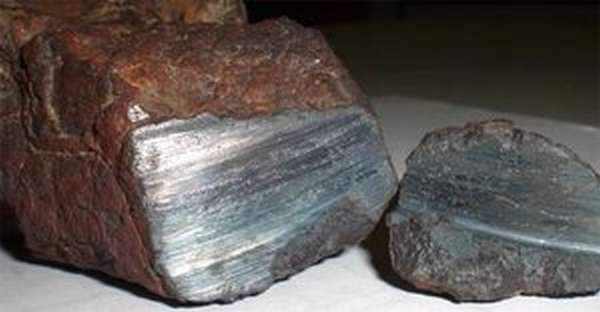 Метеоритное железо.