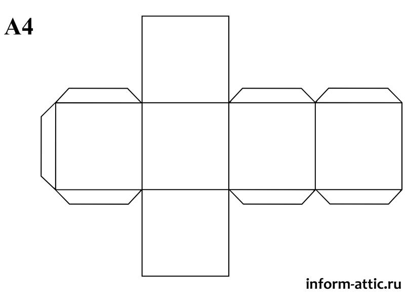 Правильная четырёхугольная призма