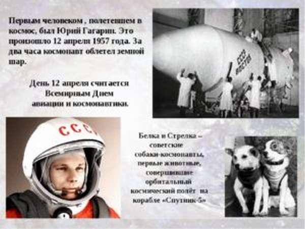 гагарин полетел в космос в 1961