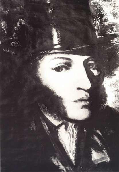 Великий поэт А.С. Пушкин - портрет