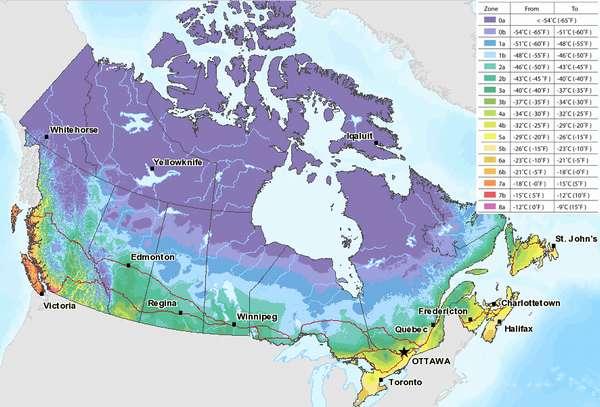 КЛИМАТ В КАНАДЕ - Времена года, погода и климат Канады | То самое место
