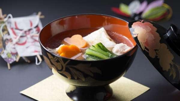 суп с лепешкой моти