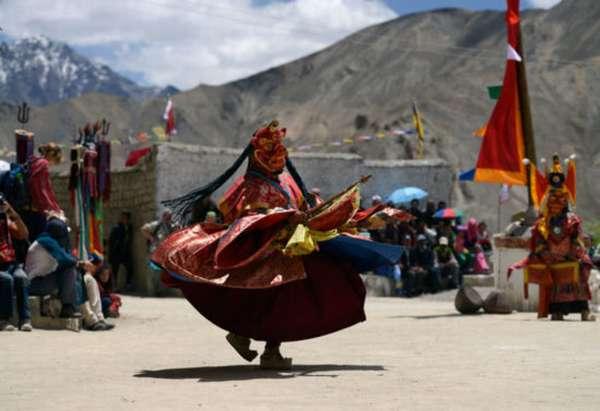 танец Тибет