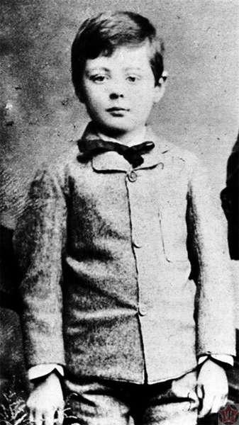 Уинстон Черчилль в детстве