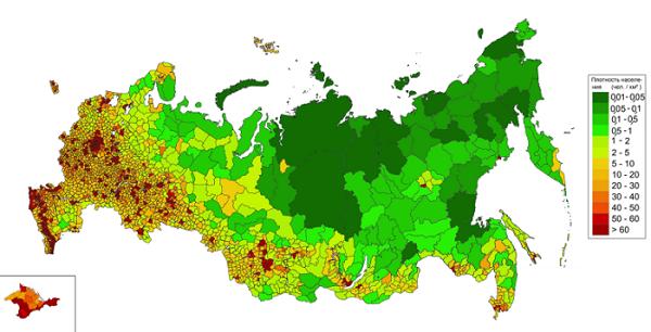 Демография России статистика демографических данных рождаемости и смертности